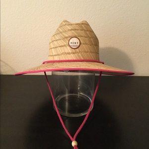 Roxy straw hat